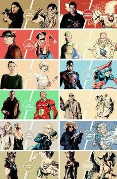 Dc Comics Tv Shows, Héros Dc Comics, Dc Tv Shows, Supergirl Dc, Supergirl And Flash, Superman Lois, The Flash Grant Gustin, Cw Dc, Univers Dc