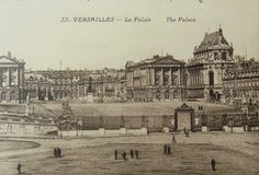 Vintage French Postcard - Palace of Versailles, France by ChicEtChoc on Etsy