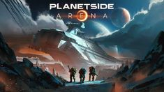 Daybreak Games announces PlanetSide Arena, a new multiplayer FPS that will include battle royale mode. Playstation, Planetside 2, Off Game, Battle Royale, I Am Game, News Games, Games For Kids, Xbox One, Things To Come