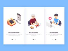 Guild pages by Rwds #Design Popular #Dribbble #shots