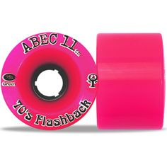 Abec11 70's Flashbacks Longboard Wheels 70mm - Pink Limited Edition. A classic wheel in the Abec 11 line up! These are your go anywhere and do everything wheel!