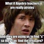 Algebra teachers' decoded