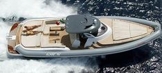 Inboard inflatable boat / hard-top / semi-rigid / with cabin INDACO 16 Sacs