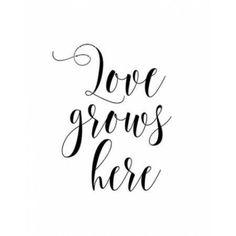 Love Grows Here Canvas Art - Tara Moss (22 x 28)