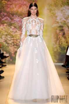 Zuhair Murad - Alta Costura - Official pictures, P-V 2014 - http://es.flip-zone.com/fashion/couture-1/fashion-houses/zuhair-murad-4463