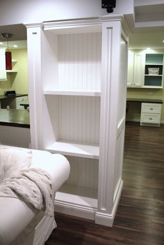 storage - great idea for load bearing walls