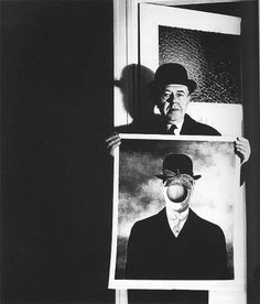 Bill Brandt (German/British, 1904-1983)  René Magritte, 1963