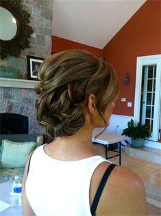 Brandy- Wedding hair