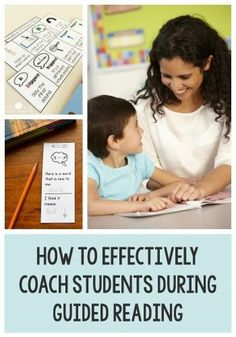 How to Effectively Coach Students During Guided Reading This post has lots of tips for supporting students as they read during guided reading. There are also freebies for Kindergarten, first, and second grade! Guided Reading Activities, Guided Reading Lessons, Reading Help, Guided Reading Groups, Reading Resources, Reading Strategies, Teaching Reading, Reading Comprehension, Teaching Ideas