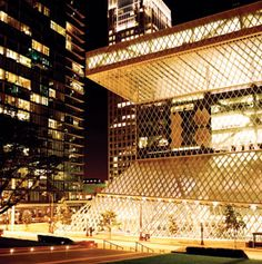 One of the best articles I have ever read that really describes what Seattle is really like..this picture is the Public Library, which is amazing..Seattle is my fav big city in the US..