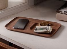 Hello there, little catch-all. How simple and unassuming you are, with just enough space to catch keys, phones, and other pocket contents. Perhaps you need to live on our dressers, desks, or entryw…