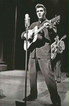 Elvis first National Television appearance..... On the Dorsey  brothers show.