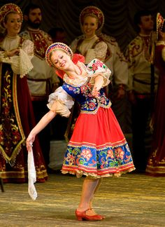 Leading dancer — Omsk State Ensemble of Russian Folk Singing and Dancing