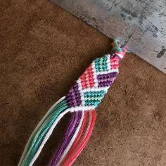 Threaded anklet diy #threadedankletmaking