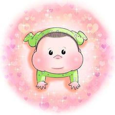 眼福…ぷにっぷに赤ちゃんの、超愛しい瞬間。うちの子もこの顔する〜!   Conobie[コノビー] Baby Cartoon, Princess Peach, Hello Kitty, Fictional Characters
