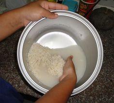 rice-water