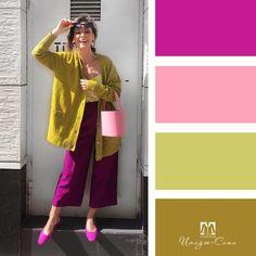 Fashion Tips Shirts .Fashion Tips Shirts Colour Combinations Fashion, Color Combinations For Clothes, Fashion Colours, Colorful Fashion, Color Combos, Retro Fashion, Boho Fashion, Vintage Fashion, Hijab Fashion