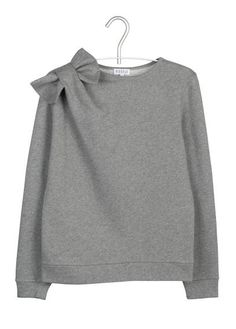 Sweat noeud  Gris by CLAUDIE PIERLOT