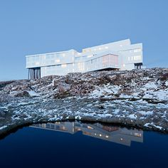 Fogo Island Inn named one of the Best Hotels of 2013 by Food & Wine - Fun to be thinking of places to visit for the next trip to Newfoundland before we make our first visit this summer :-) Travel Around The World, Around The Worlds, Fogo Island Inn, Newfoundland And Labrador, Newfoundland Canada, Hotel Concept, Beautiful Hotels, Amazing Hotels, Beautiful Places