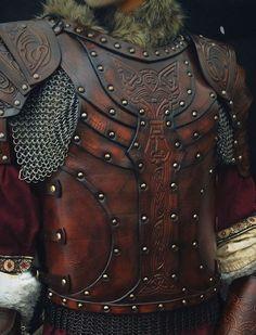 Vendel larp leather body armour complete DIY by BlackRavenArmoury