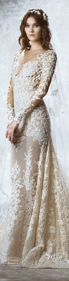 Zuhair Murad Fall-winter 2015 - Bridal.