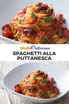 The History of Pasta in Italian Food Veggie Recipes, Pasta Recipes, Cooking Recipes, Healthy Recipes, Famous Italian Dishes, Italian Recipes, Pasta Con Broccoli, Pasta Puttanesca, Lotsa Pasta
