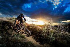 Off Roading Mountain Bike guy . . . on a Trek Fuel