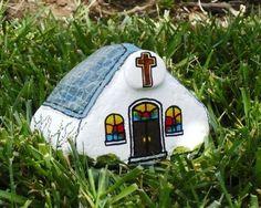 steine bemalen geschenkideen bemalten steine basteln mit steinen kirche
