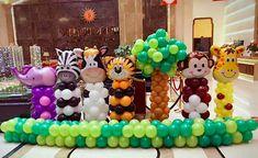 2nd Birthday Party For Boys, Safari Theme Birthday, Safari Party Decorations, Diy Birthday Decorations, Safari Invitations, First Birthdays, Google, Ideas, Baby Party