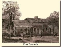 Fort Zumwalt (O'Fallon, MO) :: The War of 1812 ended with the Treaty of Ghent in 1814 and after the local treaties were signed with the Native Americans at Portage des Sioux, it opened the floodgates to a tide of immigration from the eastern states and Europe.   For the next twenty years, virtually all westward migration funneled through St. Charles and passed through present-day O'Fallon.