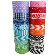 Superior Washi Tape Collection (Set of 20 rolls) - Bright... https://www.amazon.com/dp/B01EP2C6H8/ref=cm_sw_r_pi_dp_XHRExb4JE9PGT