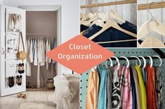Let's face it, it's no fun sifting through an unorganized closet looking for a specific item, and it often leaves your closet even more jumbled. Having a neat and organized closet doesn't have to be difficult. With these insanely creative and easy closet organization ideas, you'll be able to keep your closet neat and