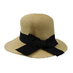 Asymmetrical Brim Summer Hat-Large size