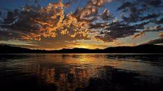 Afterglow at Priest Lake, Idaho   Flickr - Photo Sharing!   Paradise..