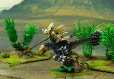 Warhammer Wood Elves, Warhammer Art, Warhammer Fantasy, Lizardmen Warhammer, Blood Bowl Teams, Wood Elf, Tyranids, Action, Fantasy Miniatures