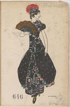 646. Maria Likarz , Wiener Werkstätte postcard