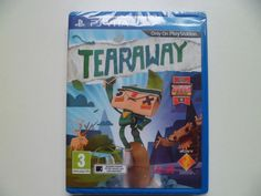 SONY PS VITA PAL UK GAME TEARAWAY BRAND NEW AND SEALED