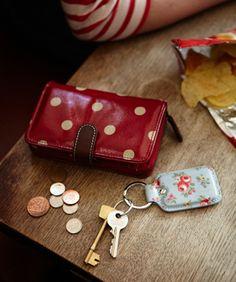 Cath Kidston - Spot Folded Zip Wallet