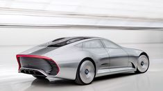 The Mercedes' IAA concept, check out that elongated tail