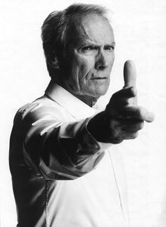 Clint Eastwood - Click image to find more Celebrities Pinterest pins