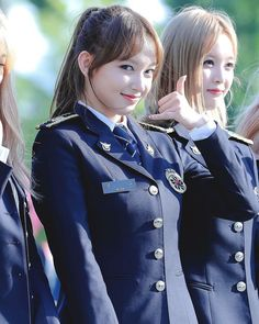 Xiao in police officer uniform