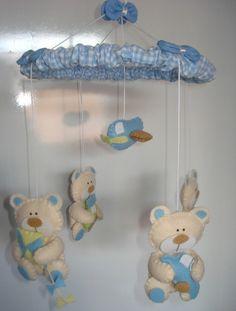 Móbile - Ursinhos brincando