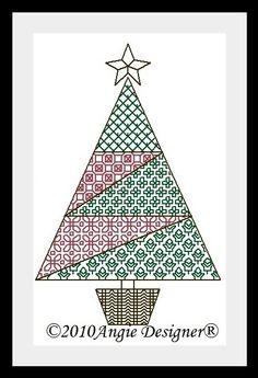 Angie Designer: Patch Christmas Tree I