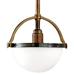 Stratford 1 Light Pendant - Industrial Pendants - Dering Hall