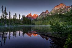 """Sunrise at String Lake"" by GuruShots User https://gurushots.com/GuruShots_user443/photos?tc=2f714573798c4445d3810149174a9e47"