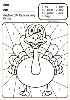 Here are the Wonderful Free Turkey Coloring Pages. This post about Wonderful Free Turkey Coloring Pages was posted under the Coloring Pages . Free Preschool, Preschool Learning, Kindergarten Worksheets, Worksheets For Kids, Preschool Activities, Homeschool Kindergarten, Color Activities, Halloween Activities, Thanksgiving Worksheets