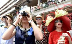 Hats off to Nyquist! Huge crowds dress up and get down at the 142nd Kentucky Derby to watch favorite take first jewel in the Triple Crown - and they all look like winners!   Daily Mail Online