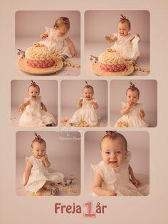 kage billede, 1 års fødselsdag, gave 1 år, cake smash, smash cake, 1 års fotografering, fotograf børn, børne billeder, 1 year birthday photography