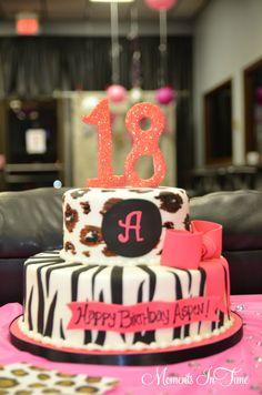 Birthday Cake ~ 18!!  Cake:  Amy Cakes of Norman, OK.  #http://www.getamycakes.com