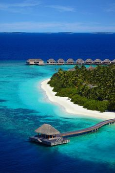 Dusit Thani Maldives Resort in Baa Atoll